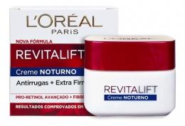 Creme Anti-Idade Facial L'Oréal Paris Revitalift - Creme Noturno - 49g