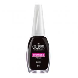 Esmalte Colorama Black  Cremoso - 8 ml