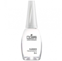 Esmalte Colorama Clássico Transparente - 8 ml