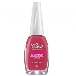 Esmalte Colorama Rosa Floral Cremoso - 8 ml