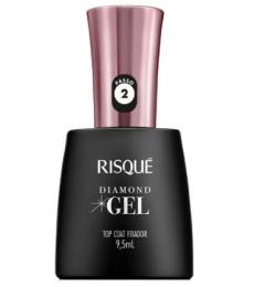 Esmalte Risque Diamond Gel Top Coat - 9,5ml