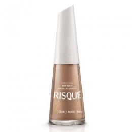 Esmalte Risque Ouro Nude - 8 ml