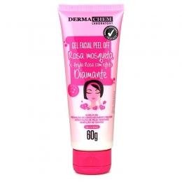 Gel Facial Peel Off Rosa Mosqueta Dermachem - 60g