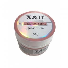 Gel X&D LED UV Pink Nude- 56gr