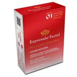 Henna Expressão Facial Loiro escuro - 2,5g