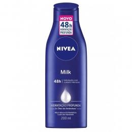Hidratante Corporal Nivea Milk - 200ml