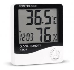 Higrômetro Medidor Temperatura E Umidade Alongamento Cílios