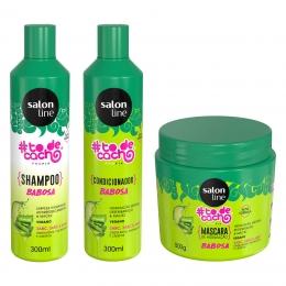 Kit Salon Line #todecacho Babosa - 3 Produtos