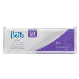 Lenço Para Depilação Depil Bella - 50 Unidade