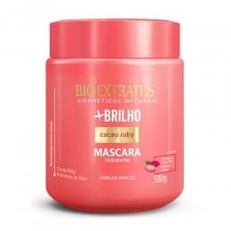 Máscara Bio Extratus +Brilho Cacau Ruby - 500g