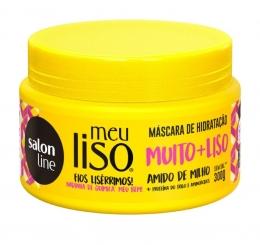 Máscara de Hidratação Salon Line Meu Liso Muito+Liso - 300ml