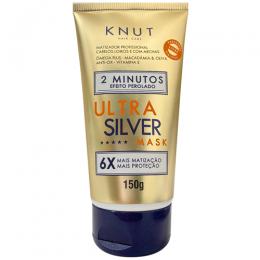 Máscara de Hidratação Knut 2 minuto Efeito Perolado Ultra Silver - 150g