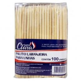 Palito Para Unhas  Laranjeira Santa Clara - 100 Unidades