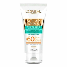 Protetor Solar L'Oréal Paris Solar Expertise Facial Toque Seco -  FPS 60