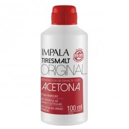 Removedor de Esmalte Impala Tiresmalt Com Acetona - 100ml