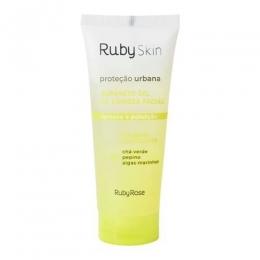 Sabonete Gel Ruby Skin Ruby Rose - Gel de Limpeza Facial 100ml