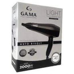 Secador Gama Light Plus Ceramic Ion Auto Bivolt - 2000 W