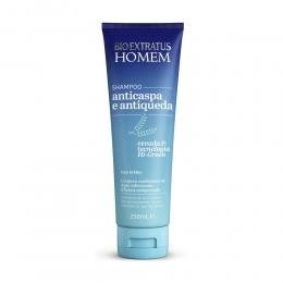 Shampoo Bio Extratus Homem Anticaspa e Antiqueda - 250ml