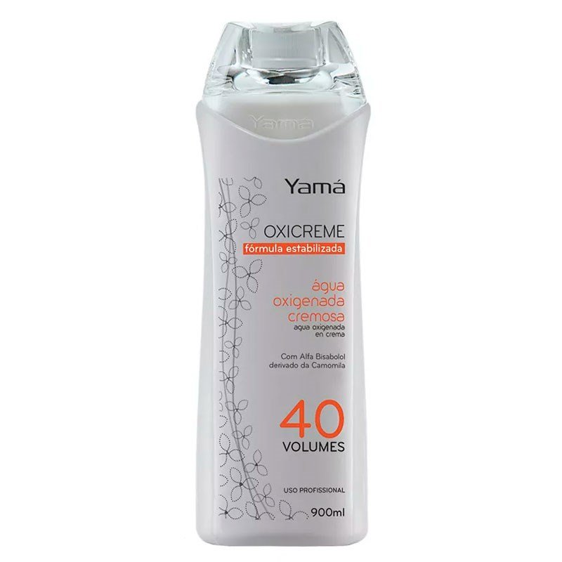 Água Oxigenada Yamá Cremosa 40 Volumes - 900 ml