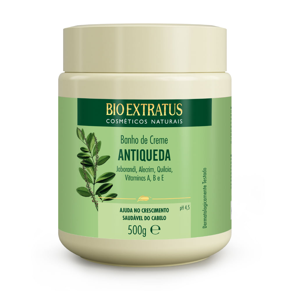 Banho de Creme Bio Extratus Jaborandi - Máscara Hidratação 500g