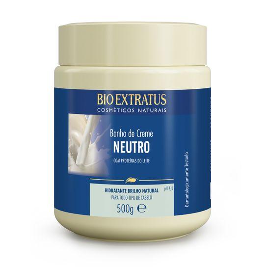 Banho de Creme Bio Extratus Neutro - Máscara Hidratação 500g