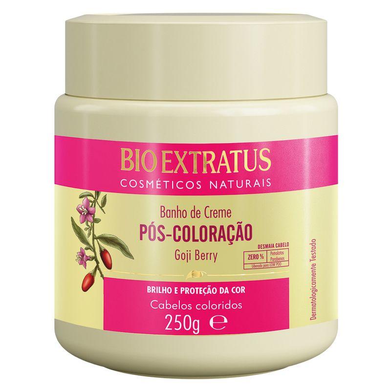 Banho de Creme Bio Extratus Pós Coloração - Máscara Hidratação 250G
