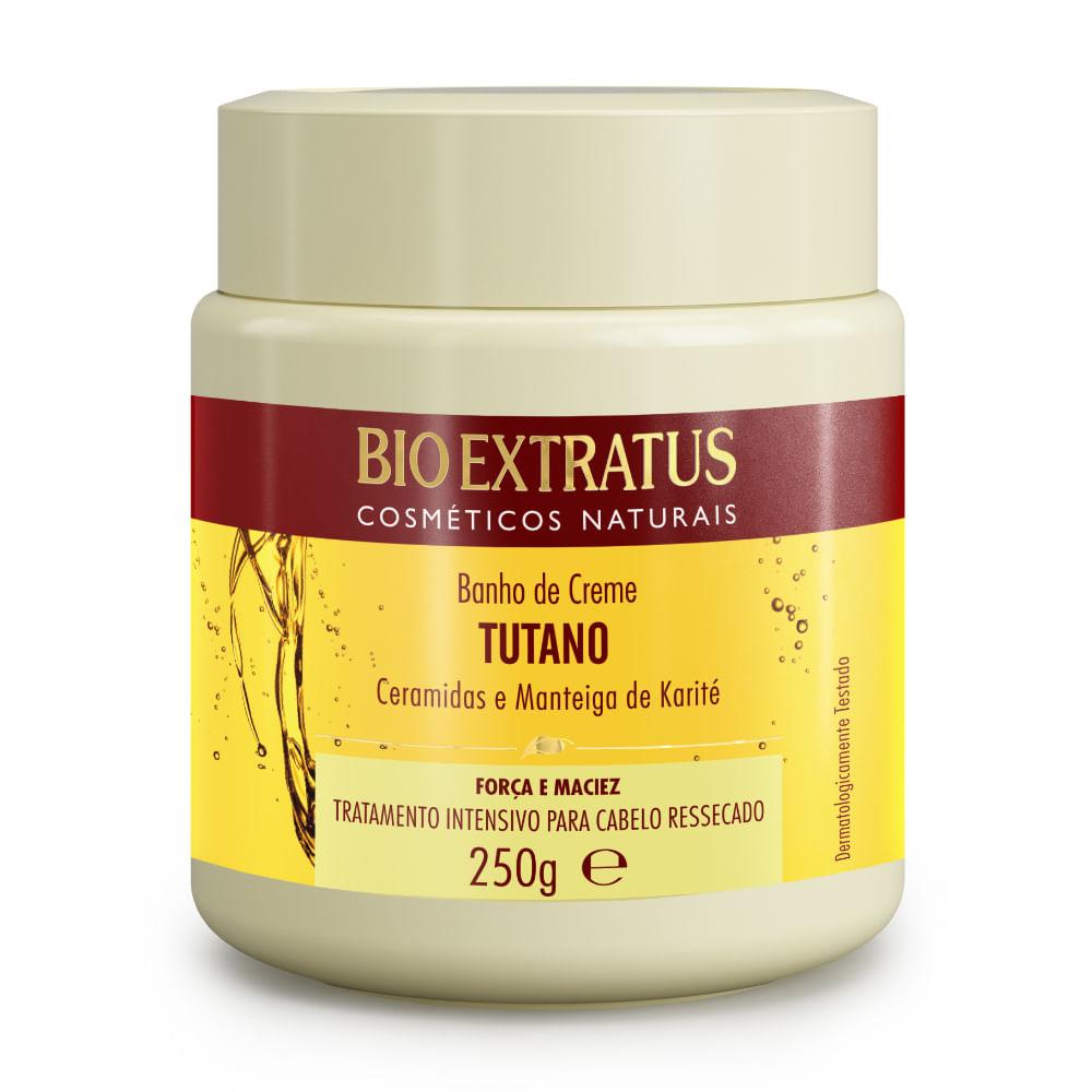 Banho de Creme Bio Extratus Tutano e Ceramidas - Máscara Hidratação 250g