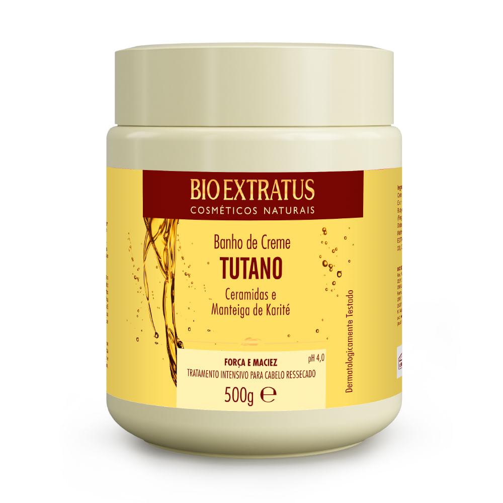 Banho de Creme Bio Extratus Tutano E Ceramidas - Máscara Hidratação 500g