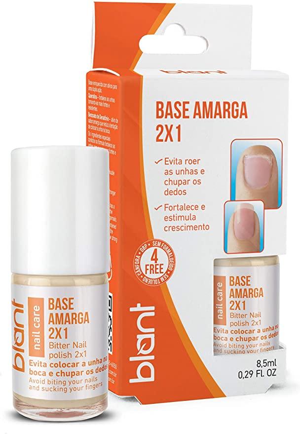 Base Blant De Unhas Amarga 2x1 8,5ml