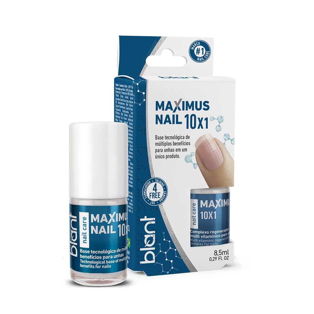 Base Blant De Unhas Maximus Nail 10x1 - 8,5ml