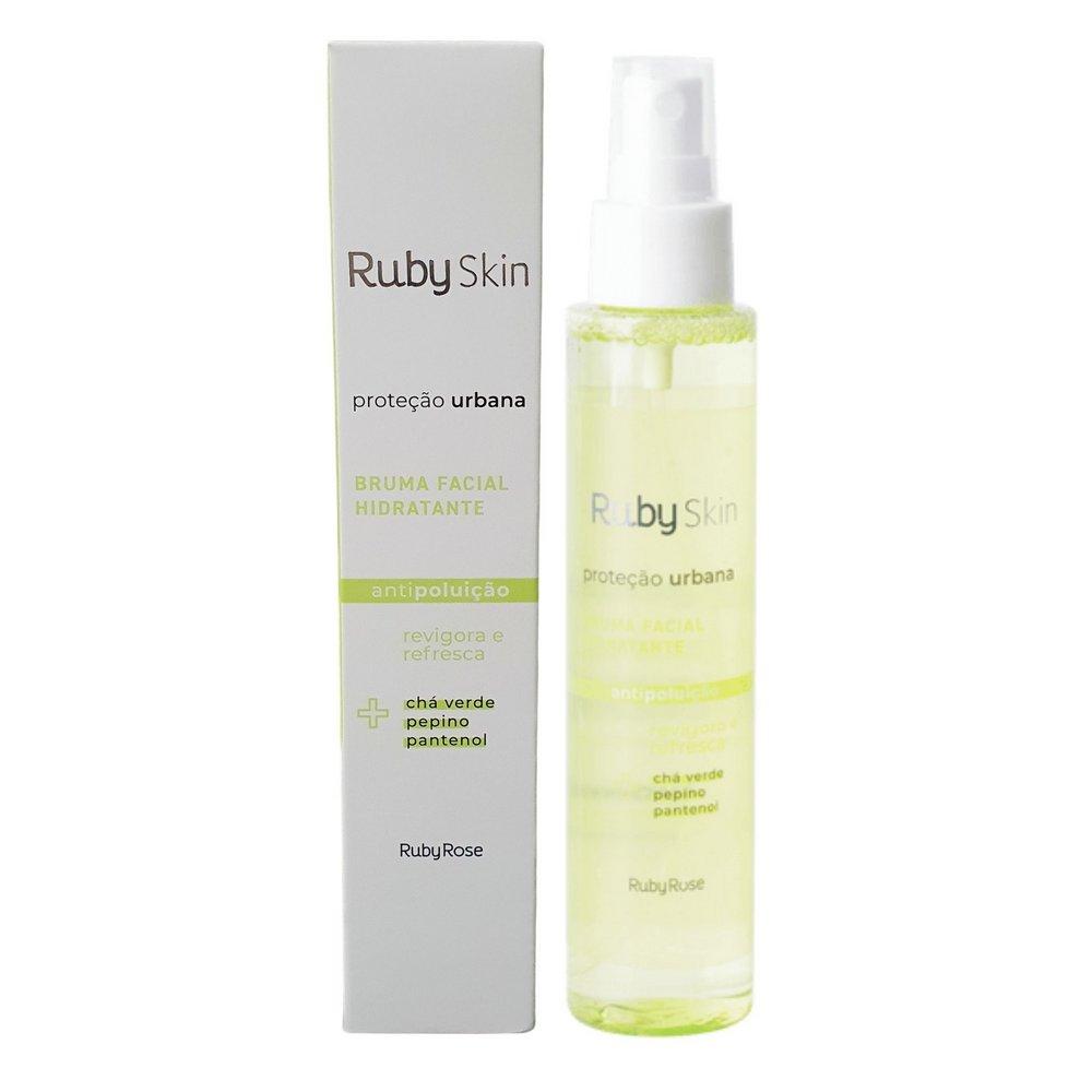 Bruma Facial Hidratante Ruby Skin - Proteção Urbana Ruby Rose  120ml