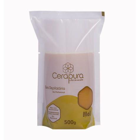 Cera  Depilatória Cerapura De Mel Quente  - 500 g