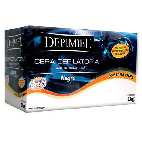 Cera Depilatória Depimiel Negra - 1KG