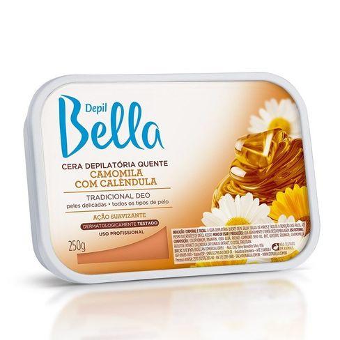 Cera Depilatória Quente Depil Bella - Camomila e Calêndula - 250g