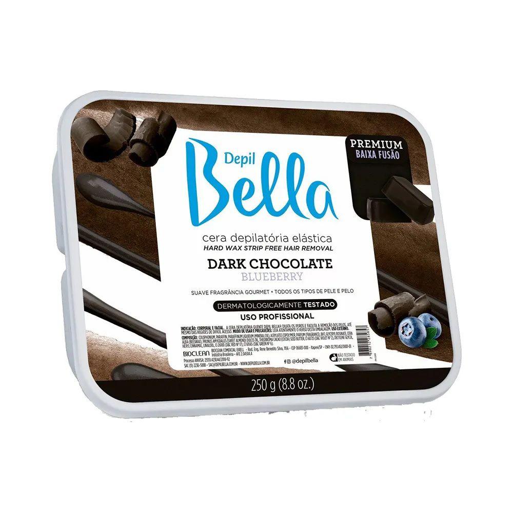 Cera Depilatória Quente Depil Bella Dark Chocolate- 250gr