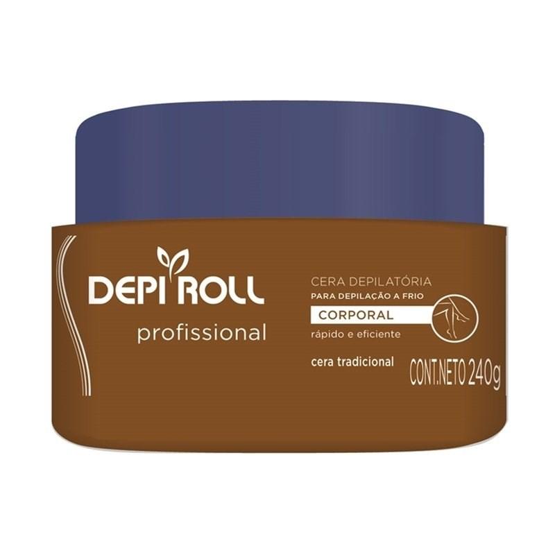 Cera fria Depi Roll Tradicional Pote - 240g