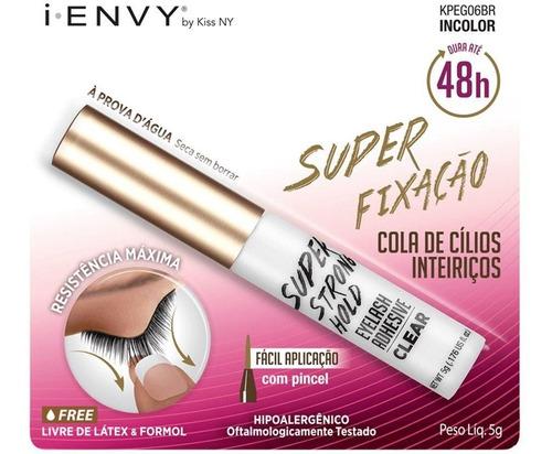 Cola para Cílios Incolor I.envy Inteiriços Super fixação - 5ml