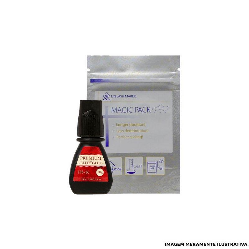 Cola para Extensão de Cílios Elite Super Ultra Black Glue- 10g