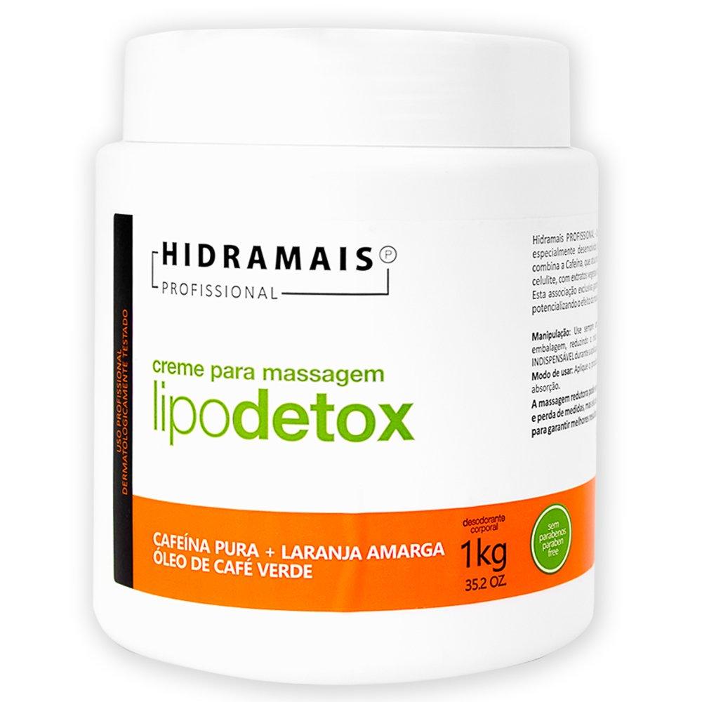 Creme De Massagem Lipo Detox Hidramais - 1kg