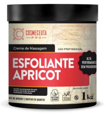 Creme Esfoliante Apricot Cosmeceuta - 1kg
