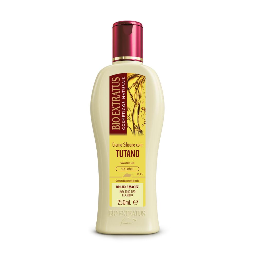 Creme Silicone Com Tutano Bio Extratus Sem Enxágue - 250ml