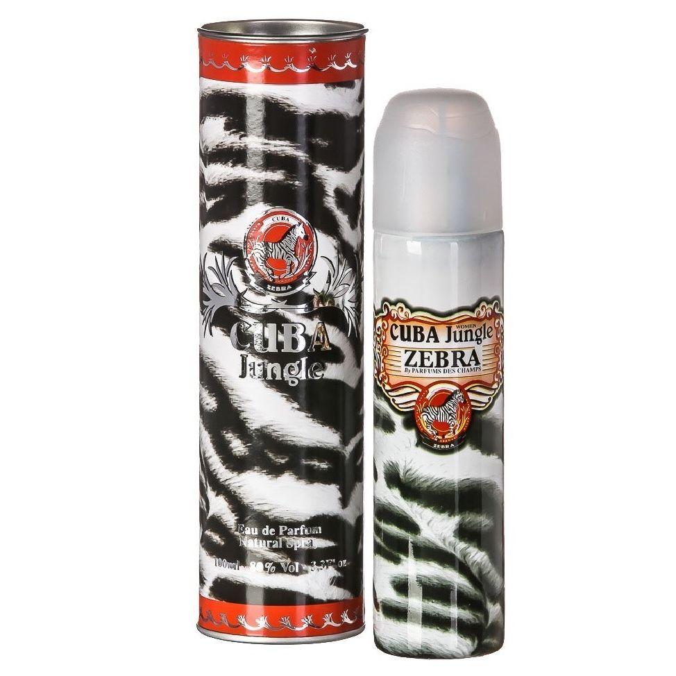 Cuba Jungle Zebra Eau de Parfum - Perfume Feminino 100ml