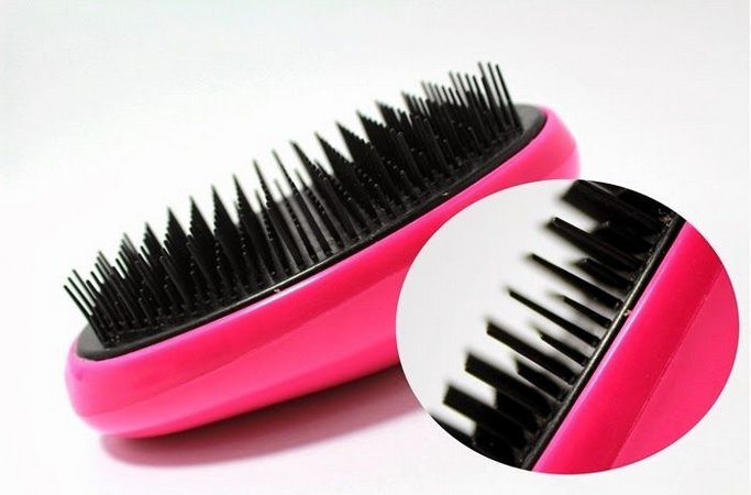 Escova de Cabelo Ricca Desembaraçante Flex Hair