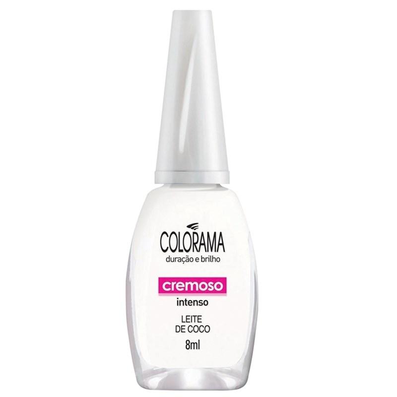 Esmalte Colorama Leite De Coco  Cremoso - 8 ml