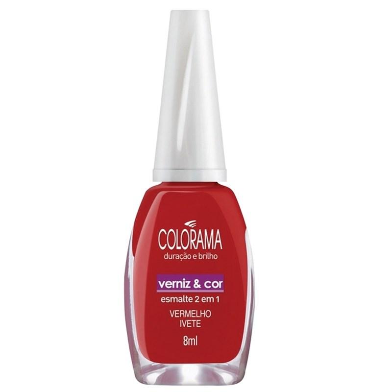 Esmalte Colorama Vermelho Ivete Cremoso - 8 ml