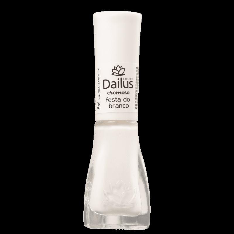 Esmalte Dailus Festa Do Branco Cremoso 8ml