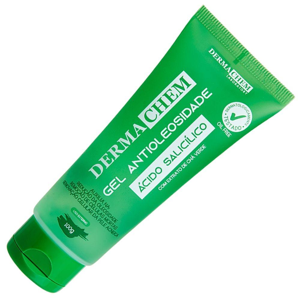 Gel Antioleosidade Dermachem Ácido Salicílico - 100ml