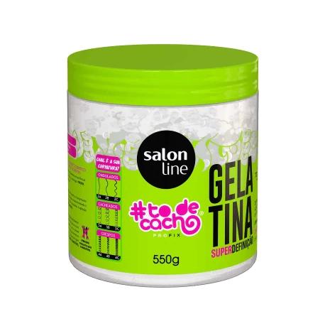 Gelatina Salon Line #todecacho Super Definição - 550g