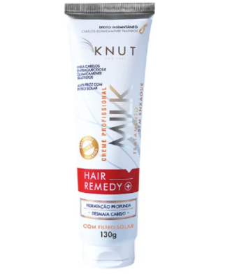 Hair Remedy Milk  Knut  - Creme Sem Enxágue - 130g