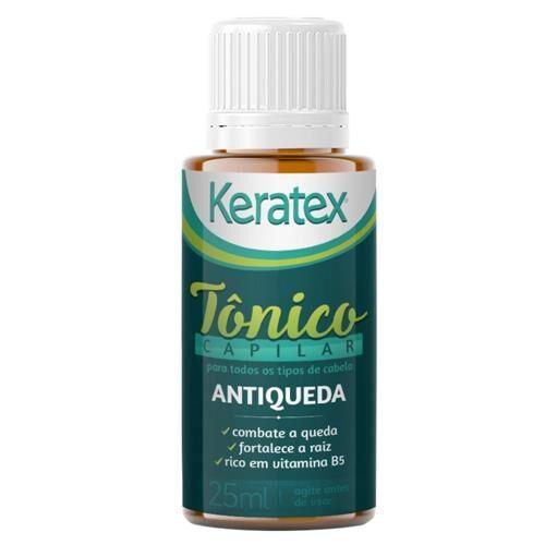 Kit c/ 5 Tônico Antiqueda Keratex - 25ml